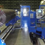 Finish machining prior to field wind operation. Generator shaft