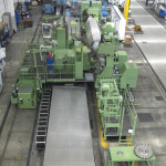 Slot milling. Winding slots, Generator shaft