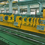 Double deep hole boring machine