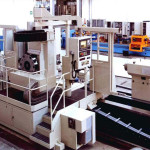 Turning and milling center equipped with rotating tower